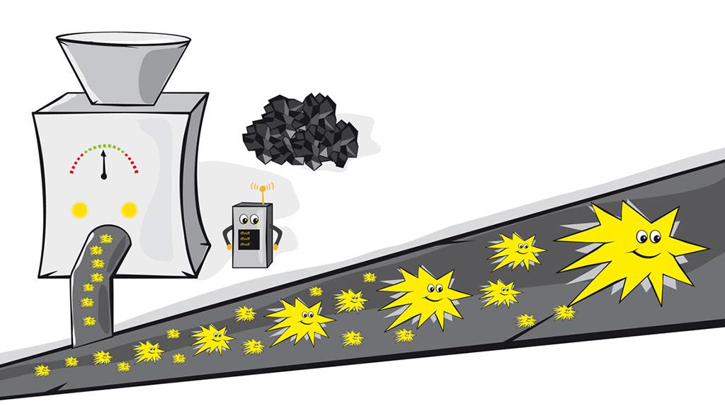 Stromerzeugung in der Stribles-Welt 3